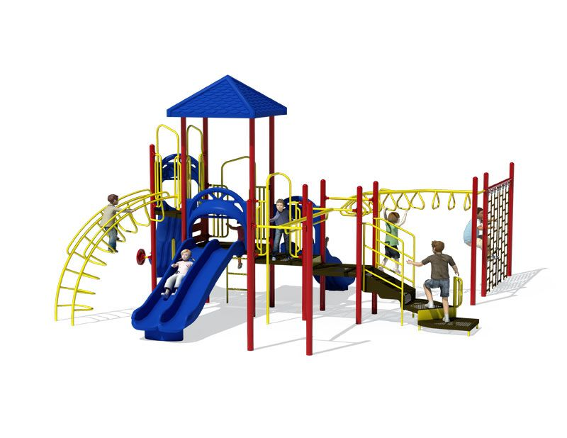 Child Works  Playground Structures, Age:  5-12, ADA